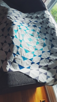 Quilt top done!