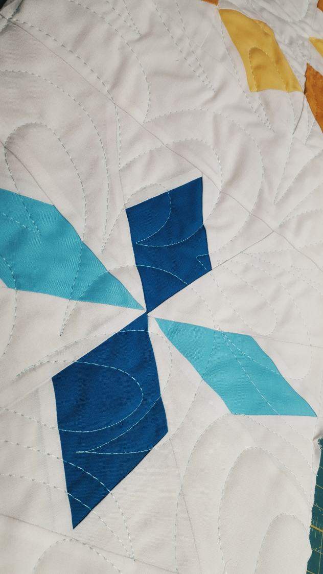 Pantograph quilting