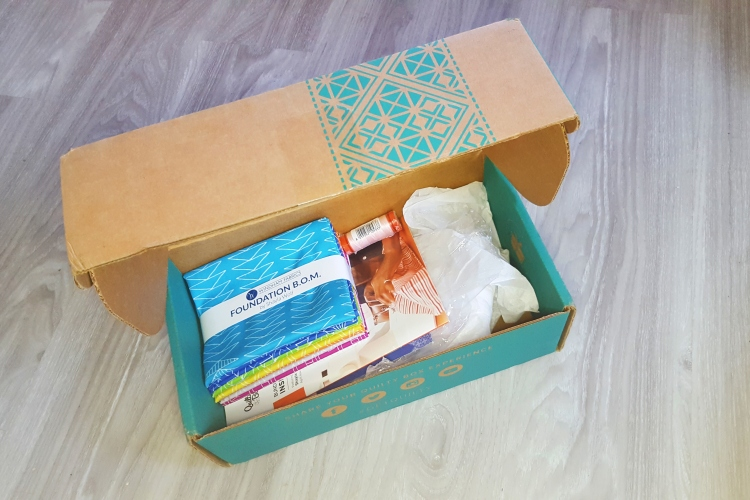 Quilty Box Opened